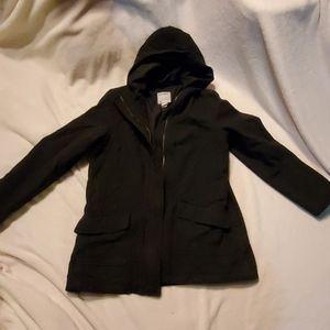 Old navy,  black wool coat.  Youth Large